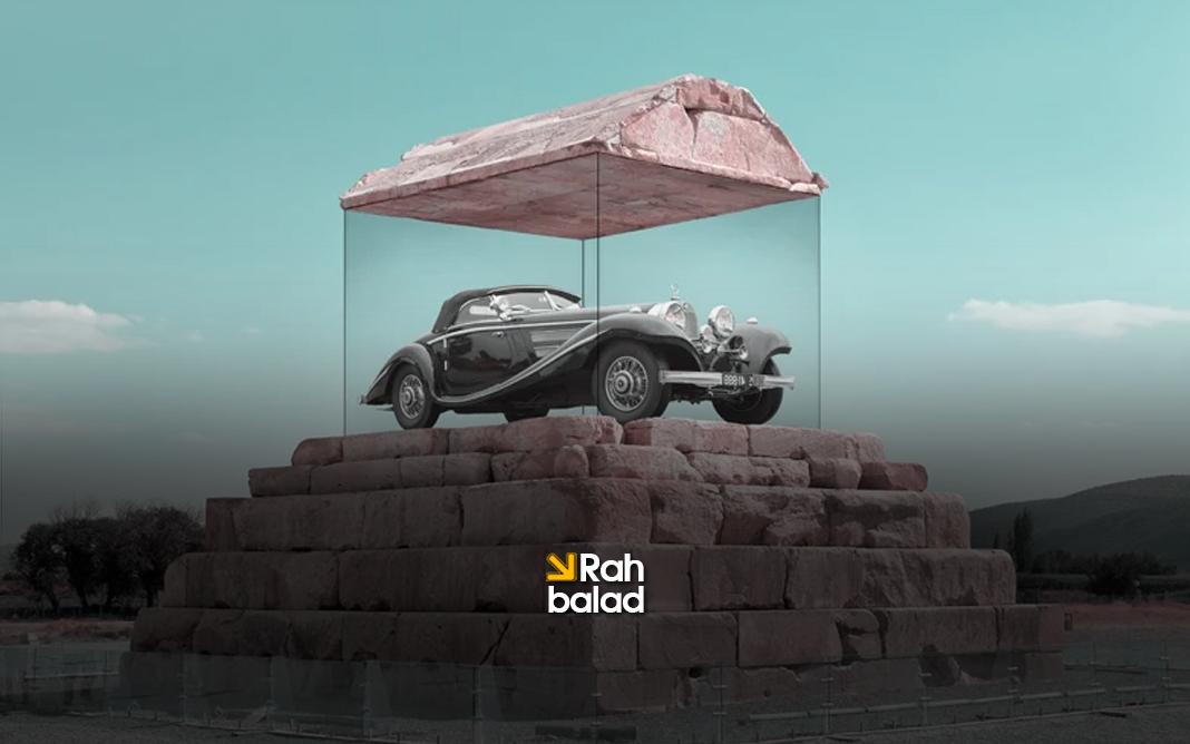 بازگشت به آینده؛ تصاویر ویرایش شده از ساختمان های برجسته ایرانی
