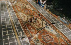 سنگفرشی زیبا در شهر ماردین ترکیه